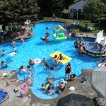 Summer fun, Family Pool style